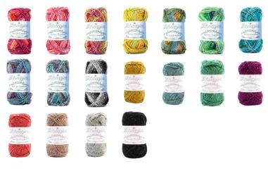 Scheepjes Secret Garden in 18 kleuren