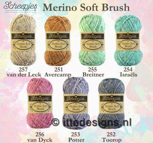 Scheepjes Merino Soft Brush ItteDesigns
