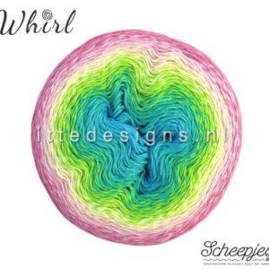 Whirl Scheepjes 768 Sherbet Rainbow