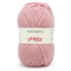 Phildar Partner 6 rose 204 /