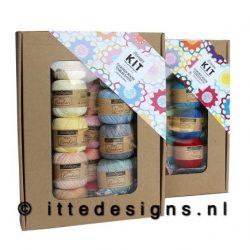 Garden Room tablecloth ItteDesigns.nl haakpakket
