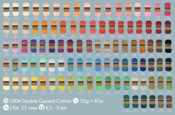 scheepjes chalista 99 kleuren
