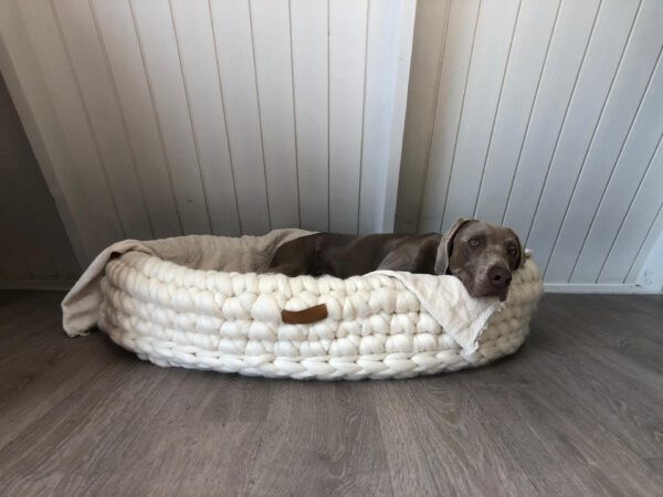 Merino hondenmand ItteDesigns