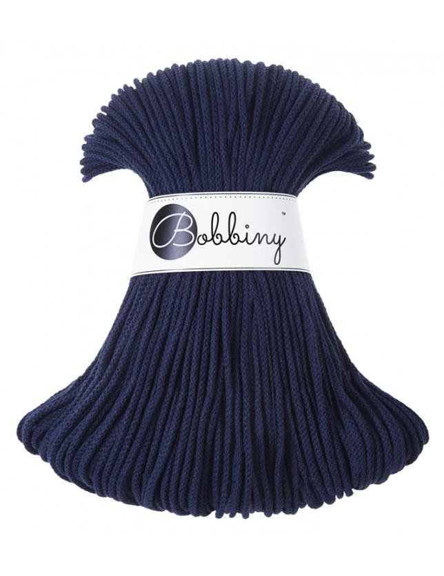 Bobbiny cord navy-blue
