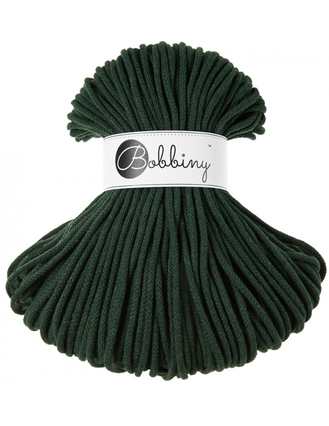 Bobbiny cord forest-green