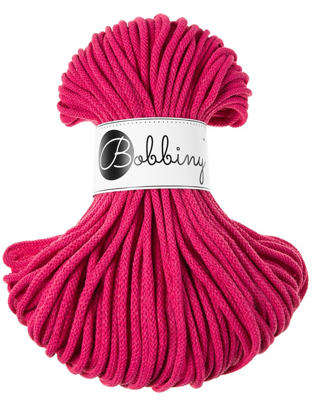 Bobbiny cord hot-pink