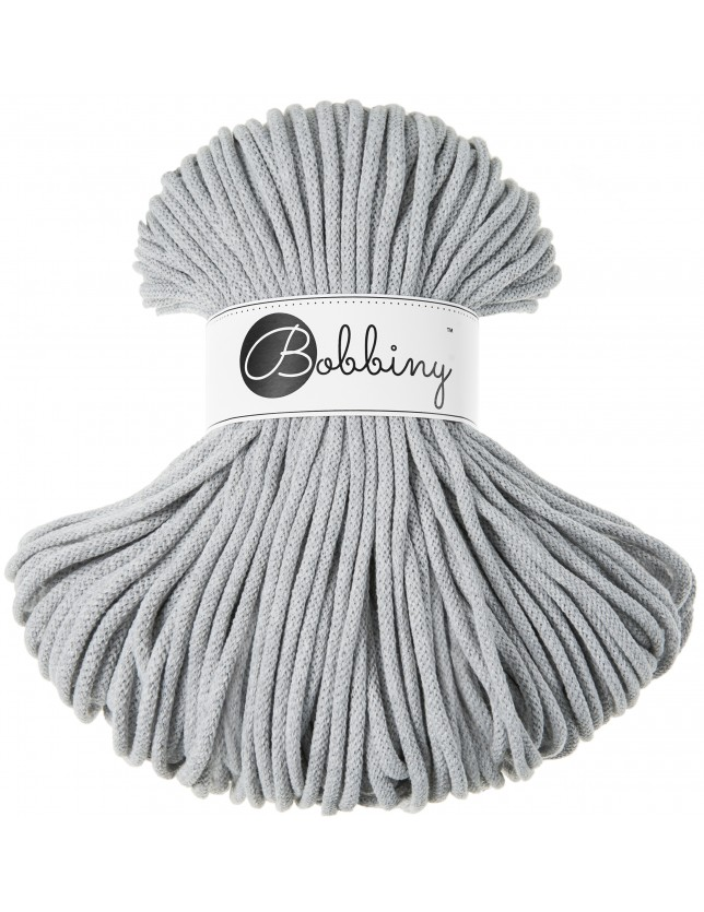 Bobbiny cord light-grey