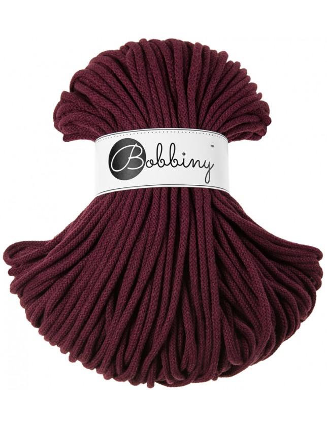 Bobbiny cord maroon