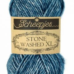 Scheepjes Stone Washed XL - 845- Blue Apatite ItteDesigns