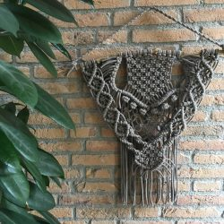 Wandhanger macrame coffee ItteDesigns