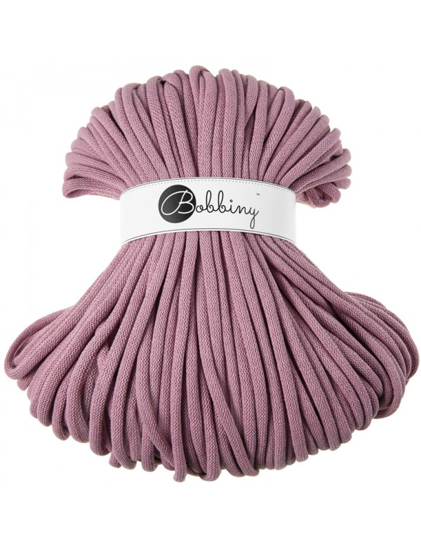 Bobbiny jumbo 9mm cord dusty-pink- ItteDesigns