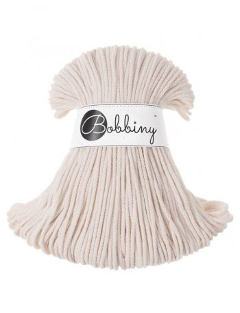 Bobbiny junior 3mm cord natural