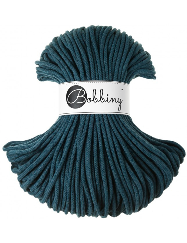 Bobbiny Premium 5mm cord Peacock Blue ItteDesigns