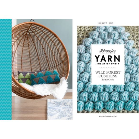 YARN The After Party nr. 17 - Wild Forest Cushions