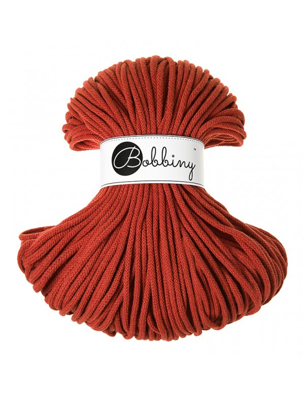 Bobbiny Premium 5mm cord Burnt Orange ItteDesigns