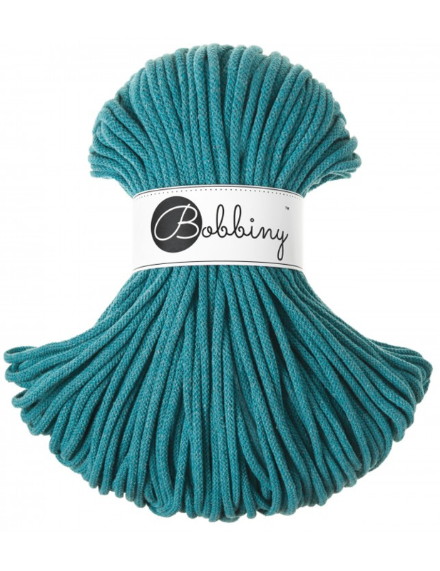 Bobbiny Premium 5mm cord Teal ItteDesigns