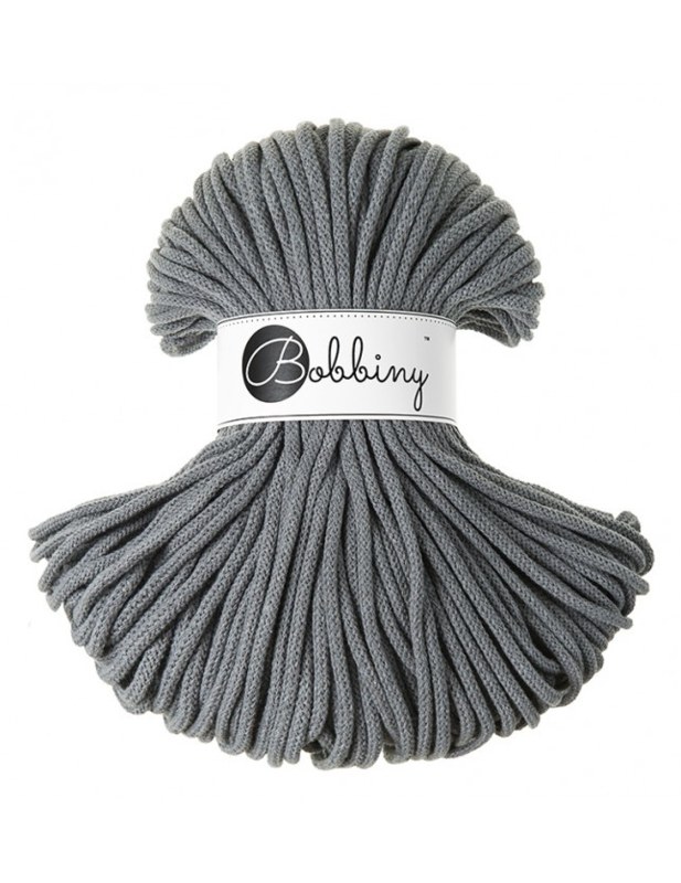 Bobbiny Premium 5mm cord Steel ItteDesigns