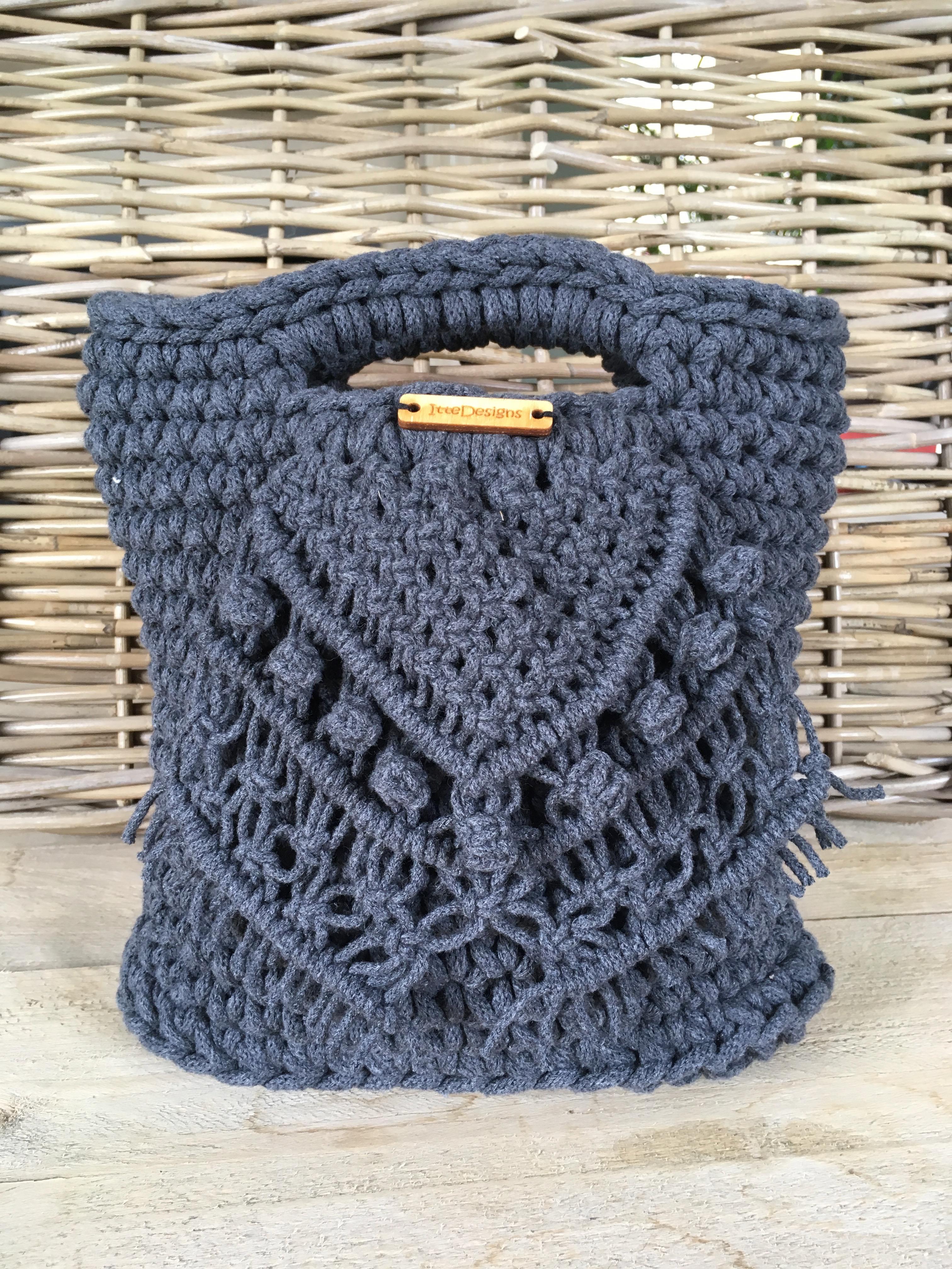 Patroon Voor Een Handtas Met Het Bobbiny Cord Online Bij Ittedesigns