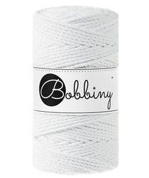 Bobbiny macrame 3mm Triple Twist ItteDesigns White