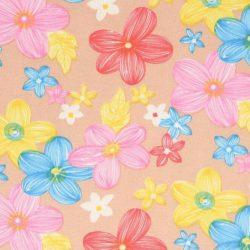 Tissu de Marie bloem 1 ItteDesigns stoffen